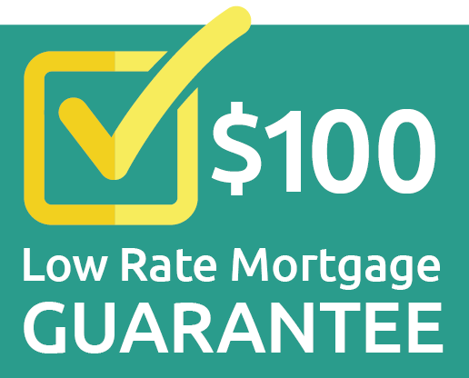 $100 low rate mortgage guarantee